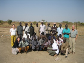 Community mapping group at the Abyei arbitration