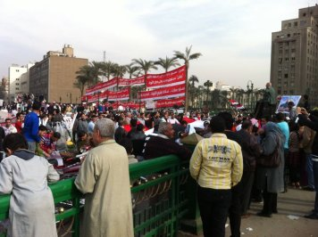 Advising on consitutional reform in Egypt