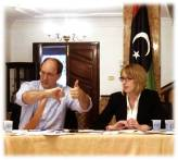 Advising on the development of a new Libyan constitution.