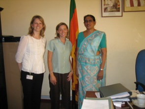 In Sri Lanka with the Secretariat of the Ministry of Consitutional Affairs