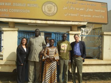 Advising on consitutional reform in South Sudan